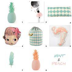 Mint & Peach - Oh yeah baby!