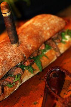 Jamie Olivers beef sandwich