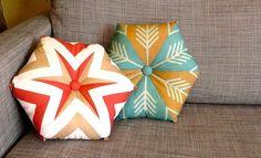 Kaleidoscope pillows - how to