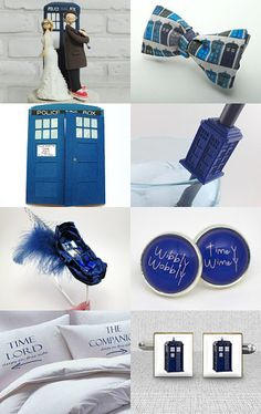 Dr Who Wedding Treasury from Etsy.  Timey Wimey and a Tardis--Pinned with TreasuryPin.com