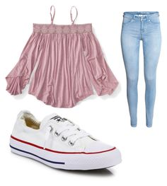 """Untitled #189"" by brianna-2411 on Polyvore featuring Aéropostale and Converse"