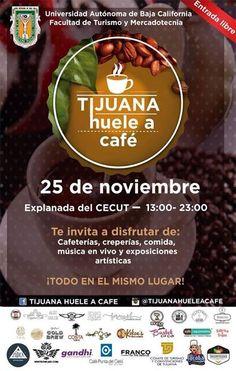 Mañana es Tijuana Huele a Café segunda edición no te lo puedes perder.  Habrá venta de tazas conmemorativas del evento con degustaciones gratis.  No faltes!  #TJHUELEACAFÉ