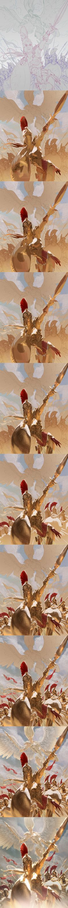 Ruze: To Battle - steps by algenpfleger.deviantart.com on @deviantART