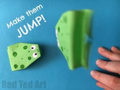 Easy Jumping Frog Origami