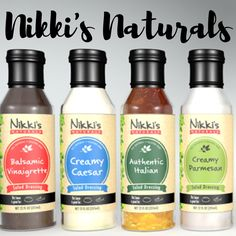 Nikki's Naturals' sauces and marinades have wonderful flavors, tasty even to the very last drop. #nikkisnturals #saucesandmarinades