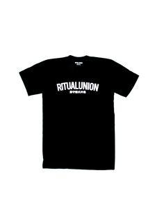 Ritual Union — Black Curve Tee   #streetwear #streetwearfashion #street #streetstyle #veryrare #menswear #supremenyc #pigalle #outfitoftheday #pyrex #pyrexvision #beentrill #givenchy #supreme #balmain #hba #hoodbyair #rhude #hypebeast #outfitgrid #ktz #kanyewest #yeezy #yeezus #asaprocky  #blackfashion #givenchy #mensfashion #highsnobiety