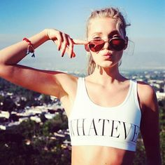 Elsa Hosk don't need no fancy fashion photographer.   She looks just as sexy as ever on instagram.