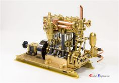 Repin marine steam engine