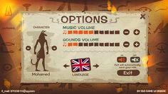 《Egyptian adventure》 - Ben will Game Ui DesiGn on Behance