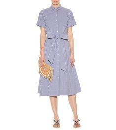 Gingham cotton shirt dress - Lisa Marie Fernandez