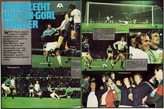 West Ham were first to score in the 1976 Cup Winners Cup final through Pat Holland and after trailing 2-1 fought back to 2-2 after a flicked Keith Robson header. But it wasn't to be and Anderlecht ran out 4-2 winners