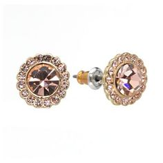 #LCLaurenConrad Simulated Crystal Stud Earrings