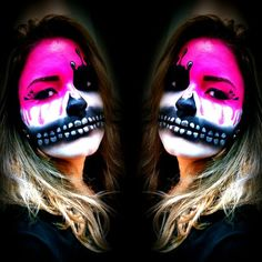 Make up theme day - Halloween 2014