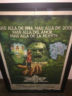 Zardoz poster 1 - standard poster size