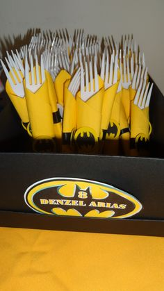 forks for Batman Party