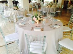 Transparent Tiffany chairs