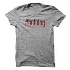 Hashtag is a sign of a social network in which individual attention. Texts and graphic on the shirt show ownership and interested in breeding of dogs in each breed.