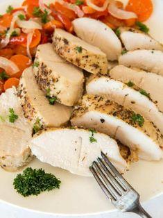 Roasted turkey tenderloin is an easy recipe that everyone loves! Turkey Tenderloin Recipes, Turkey Recipes, Chicken Recipes, Dinner Recipes, Lunch Recipes, Appetizer Recipes, Dinner Ideas, Dessert Recipes, Chicken Parmesan Meatballs