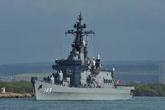 JS Shirane (DDH-143) - Shirane class Destroyer (Japan)