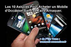 Mais pour ne pas vous faire arnaquer sur votre prochain téléphone, suivez ces 10 conseils avant de l'acheter.  Découvrez l'astuce ici : http://www.comment-economiser.fr/10-astuces-indispensables-pour-acheter-un-mobile-d-occasion.html?utm_content=bufferc2746&utm_medium=social&utm_source=pinterest.com&utm_campaign=buffer