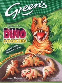 Dinosaurs and their Biscuits: Prehistoric Recipe Shocker Discontinued Food, Shapes Biscuits, Oven Glove, Prehistoric, Dinosaurs, Eat, Recipes, Prehistoric Age