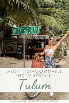 Tulum is a small town on the Riviera Maya with a photo spot on every corner. Here are the most famous Instagram spots in Tulum on a glance. Tulum | Photo Spots Tulum | Instagrammable Places Tulum | Tulum Instagram Spots #Tulum #Yucatán #RivieraMaya #MexicoTravel Mexico Vacation, Mexico Travel, South America Travel, North America, Photography Guide, Travel Photography, Top Places To Travel, Take Better Photos, Canada Travel