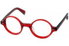 Berlin Single Vision Full Frame : Crystal Red : 3.50 #pinglasseswinglasses #readingglasses