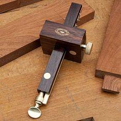 Rosewood Mortise Marking Gauge Garrett Wade Old Tools Antique Woodworking