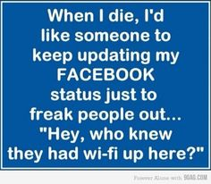 Hahaha so funny