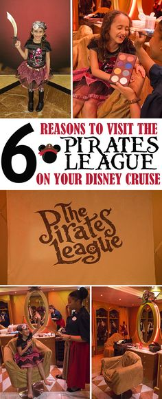 Searching for swashbucklin' fun on Pirate Night? Here are 6 reasons to take your family to The Pirate's League on your Disney cruise! #DisneySMMC