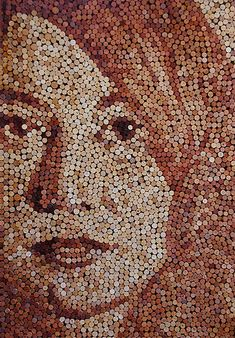 What I LOVE About WINE: It can leave you speechless| Wine Cork Painting