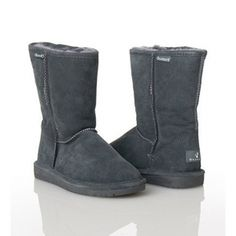 SALE - Bearpaw EMMA Booties Womens Gray Suede - Was $70.00 - SAVE $25.00. BUY Now - ONLY $44.95