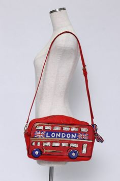 Jane Marple: Double Decker London bag