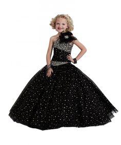 Black-One-Shoulder-Flower-Girls-Dresses-For-Wedding-Handmade-Flower-Crystal-Sequins-Custom-Made-Girls-Pageant.jpg (900×1080)
