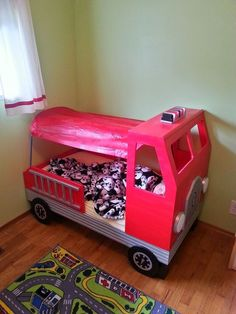 1000 Ideas About Fire Truck Beds On Pinterest Lofted