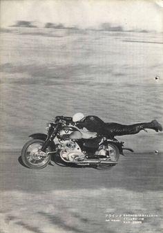Honda sales brochure - suicide driver | Honda CB 77