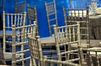 Silver chivari chairs