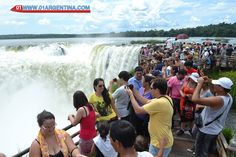 """Record of tourists in Iguazu falls. Puerto Iguazu already received 743 thousand tourists in 2015 so far. This figure is already 10% higher than was recorded throughout 2014, according to the head of the Municipal Board of Tourism Iguazu, Claudio Alvarez, """"is due to the policies adopted by the province and the city to attract tourists. """" Read more in link... Check your #Travel #Tours #Packages #Vacations at   #IguazuFalls  in #Argentina . Different #destinations are waiting for You! 01 Argentina"""