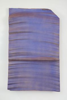 Piero Golia, Intermission Painting #26 red to purple, 2015, Bortolami