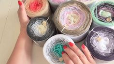 Novinky v sortimentu - Duhová klubka Hacks, Knitting, Youtube, School, Tricot, Breien, Stricken, Weaving, Knits