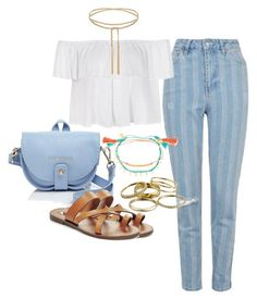 """""""Untitled #155"""" by maggiejanexo on Polyvore featuring Topshop, Gorjana, Ally Fashion, Ted Baker, Steve Madden and Kendra Scott"""