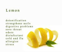 add 2 drops of lemon oil in a glass of water to aid in liver cleansing.  My daughters swipe lemon oil on each side of their baby's nose to s...