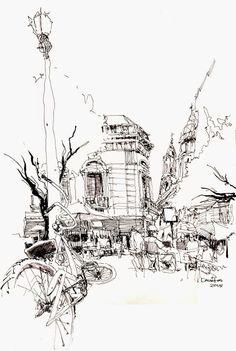 Dibujos de arquitecto Norberto Dorantes