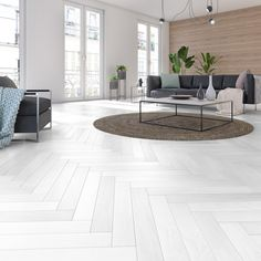Decor, Outdoor Decor, Room, White Wood Floors, New Homes, Home Decor, Flooring, Living Room Wood Floor, White Wood