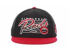 New Era MLB Cincinnati Reds Snapback Hats Caps Black 3413! Only  7.90USD  Wholesale Hats fe472a291ea2