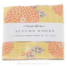 Autumn Woods Charm Pack - Kate & Birdie Paper Co. - Moda Fabrics