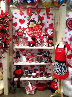 Valentine's Display from our Holiday Open House 2013! #burtonandburton #valentine