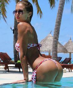 sexy girl in humpday bikini photo
