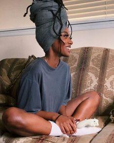 Curly Hair Styles, Natural Hair Styles, Big Natural Hair, Pelo Afro, Beautiful Black Girl, Black Girl Aesthetic, Brown Skin Girls, Dreadlocks, Black Girls Hairstyles
