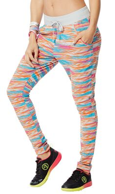 Zumba® Back to the Fuchsia Treaded Slim Fit Jogger Pants - Women Zumba Fitness, Slim Fit Joggers, Ideal Fit, Fitness Planner, Interval Training, How To Slim Down, Jogger Pants, Elastic Waist, Pants For Women